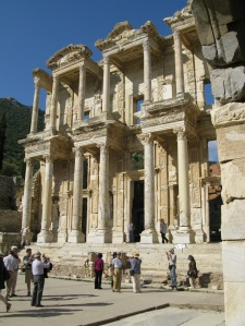 The Library of Celsus about 1900 years old