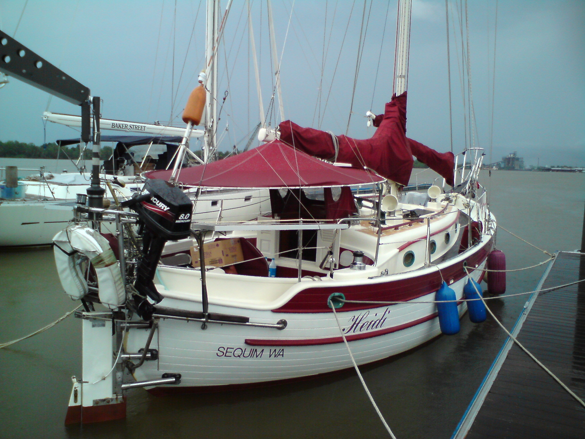 For Sale: Hans Christian 34 1978 - Cruisers & Sailing Forums